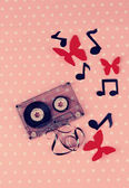 Old cassette — Stock Photo