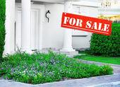 Yeni ev satılık — Stok fotoğraf