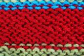 Knitted fabric background close up — Stock Photo