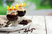 Espresso cocktail served — Stock Photo