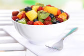 Delicious fruits salad — Stockfoto