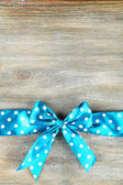 Background with beautiful bow — Stock Photo