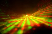 Abstract laser light — Stock Photo