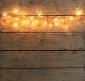 Рождественский праздник огней — Стоковое фото