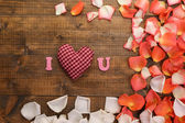 Valentines Day close-up — Stock Photo
