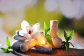 Spa herbal massage bags — Foto Stock