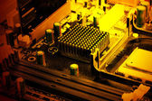 Modern electronic board — Stock Photo