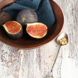 Ripe sweet figs — Stock Photo #55210373