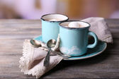 Cup of tasty hot cocoa — Foto Stock