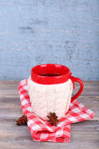 Cup of tasty hot tea — Stock Photo