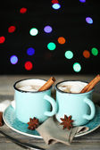 Cup of tasty hot cocoa — Foto de Stock