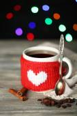 Cup of tasty hot tea — Foto de Stock