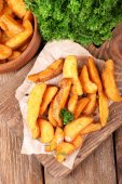 Homemade fried potato — Stockfoto