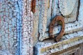 Old horse shoe — Foto Stock