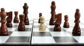 Individuality chess concept — Stock Photo