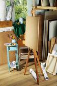 Арт мастерская интерьера — Стоковое фото