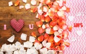 Romantic Valentine's Day background — Stock Photo