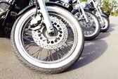 Bike exhibition, outdoors — Stock Photo