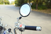 Motor bike detail, close-up — Stock Photo