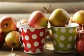 Juicy ripe apples — Stock Photo