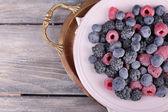 Iced berries — Stock Photo