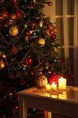 Cozy Christmas interior — Stock Photo