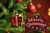 árbol de navidad decorado — Foto de Stock