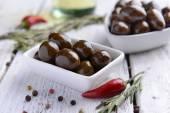 Marinated olives — Stock Photo
