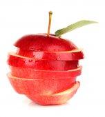 Ripe sliced apple — Stock Photo