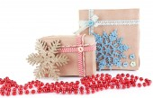 Packaged gifts — Stock Photo