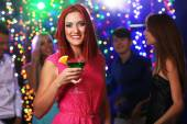 People dancing at party — Stock Photo