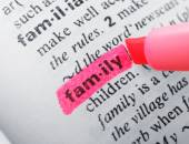 Pink marker highlighting word in dictionary — Stock Photo