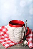 Tazza di tè caldo gustoso — Foto Stock