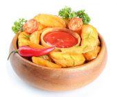 Homemade fried potato — Stock Photo