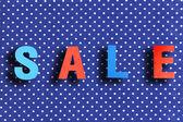 Sale shopping background — Stok fotoğraf