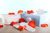 Sanitary pads calendar — Stockfoto