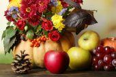 Beautiful autumn composition — Stock Photo