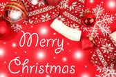 Noel tatil dekorasyon — Stok fotoğraf