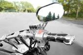 Motor bike detail, close-up — Photo
