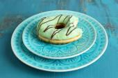 Bitten delicious donut — Stock Photo