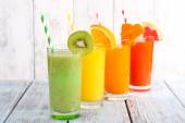 Fruit and vegetable juice — Stock Photo