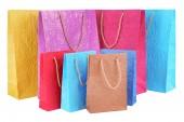 Shopper di carta isolato — Foto Stock