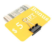 Set of cut coupons for shopping — Foto de Stock