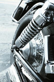 Motorcycle shock absorber — Stock Photo