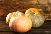 Ripe different pumpkins — Foto de Stock