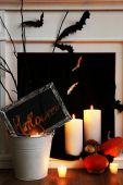 Skład halloween — Zdjęcie stockowe