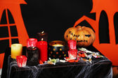Halloween scenery — Stock Photo