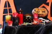 Halloween scenery — Stock Photo