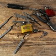 Tools of picking locks — Stock Photo #56884901