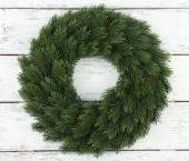 Decorative Christmas wreath — Stok fotoğraf